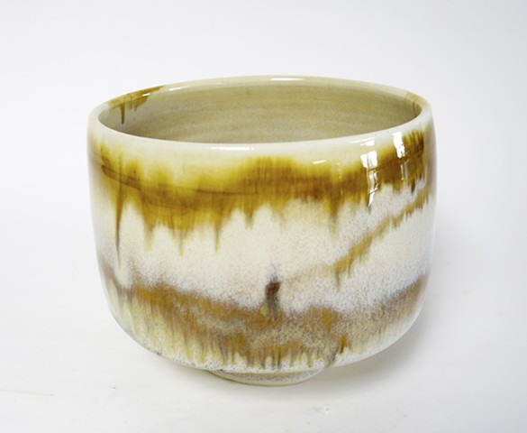 Bowl with Floating Glaze
