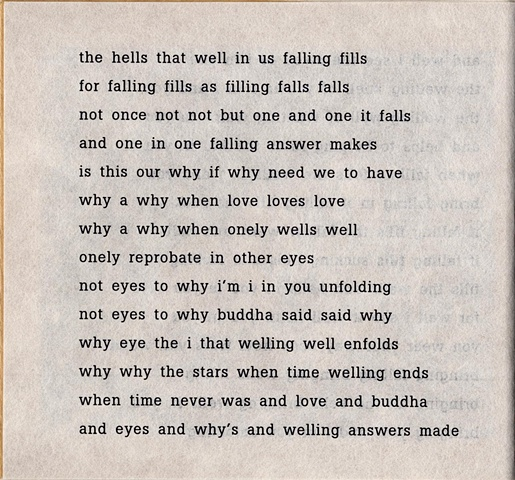 the hells that well in us falling fills  from brazilia you  pas de chance press, 2004
