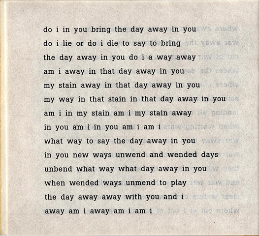 do i in you bring the day away in you  from brazilia you  pas de chance press, 2004