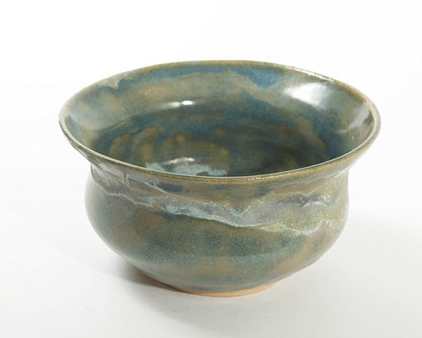 Blue and turquoise bowl