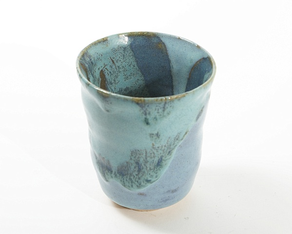 Light and Dark blue mug