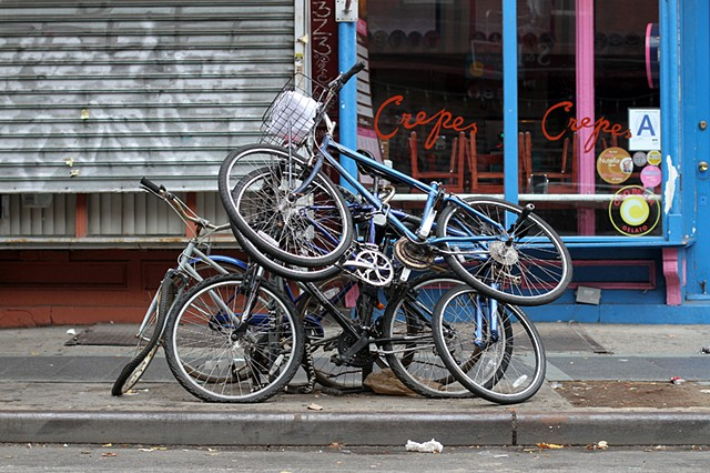 Bicycle Pile