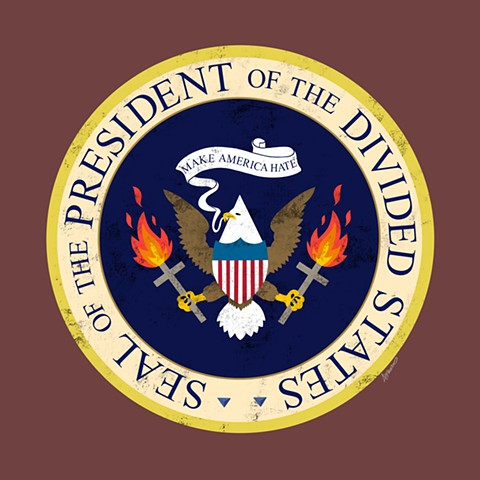 Seal of the President of the Divided States