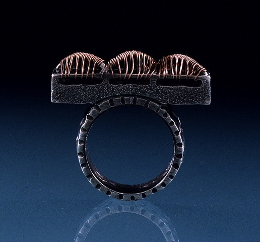 """Catapilar Coffin Ring"""
