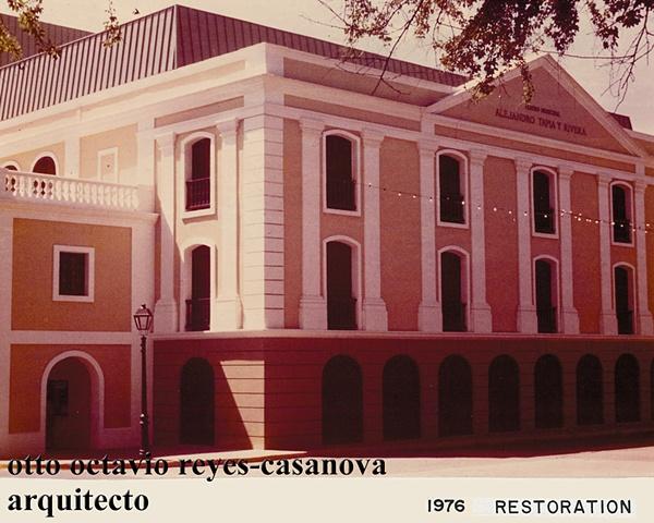 Teatro Tapia. 1976