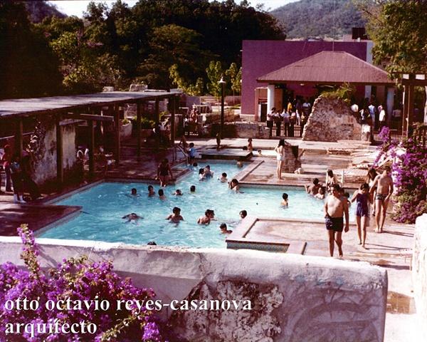 Baños de Coamo. 1976