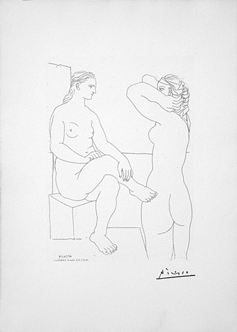 Picasso, Pablo. 1084a