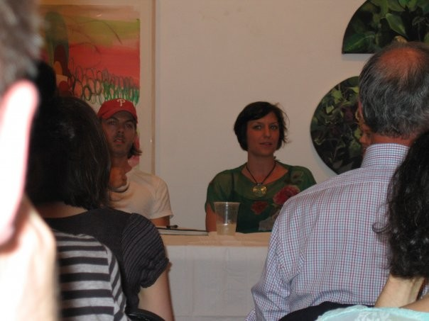 Panel discussion event at the Painting Center
