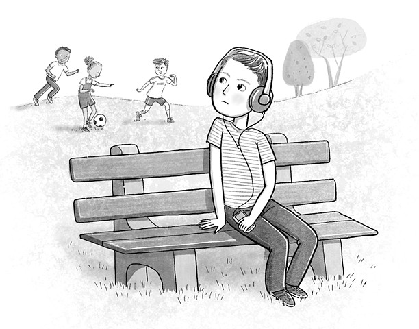 Violet Lemay, children's book illustrator, kidlit, middlegrade illustrator, tweens, soccer, kid feeling left out