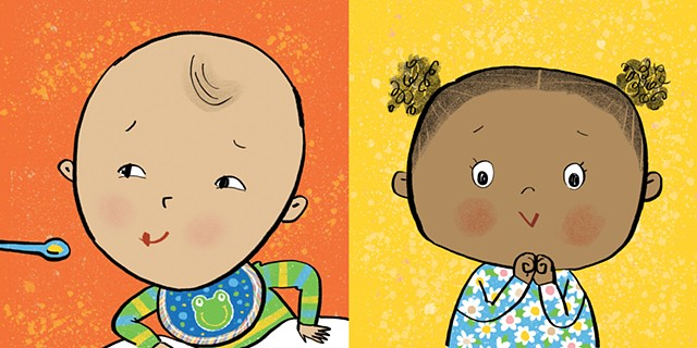 Violet Lemay, illustration, kid lit, children's book illustrator, board book, baby book, tummy time