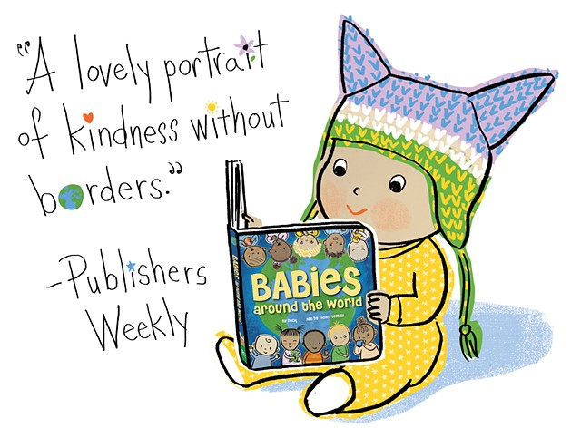 "Editorial Reviews of ""Babies Around the World"""