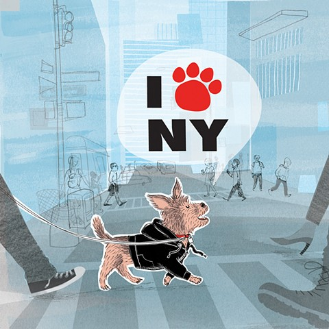 dogs, New York, NYC, city dogs, New York Dogs, humor, gift book, dog lit