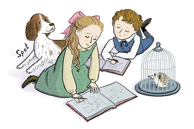 Beatrix Potter, Beatrix Potter as a girl, , Violet Lemay, Artists and Their Pets, kidlit artist, middlegrade artist, children's book illustrator, picture book illustrator