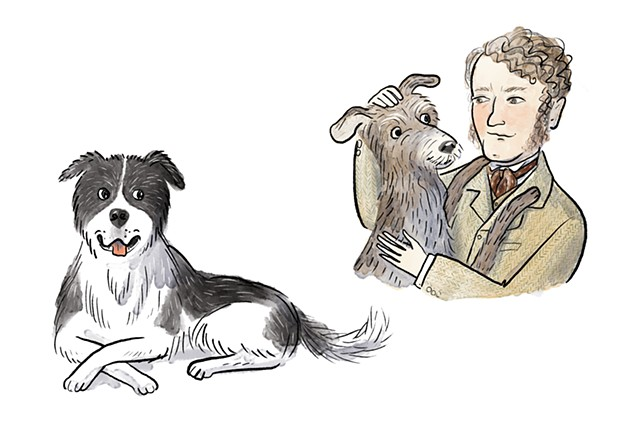 Sir Edwin Landseer, Violet Lemay, children's book illustrator, middle grade illustrator, middle grade biography, kidlit artist