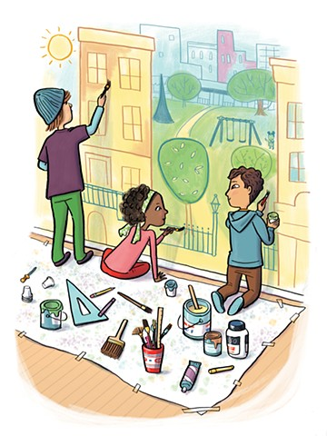 Violet Lemay, kidlit artist, middle grade illustration, middle school, tween, book for tweens