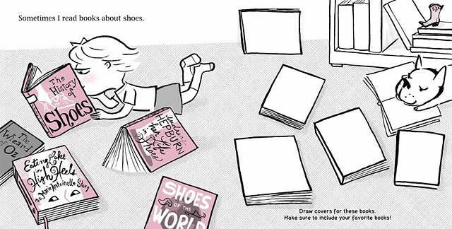 Isabella's Shoe Studio duopress  written and illustrated by Violet Lemay designed by Charla Pettingill