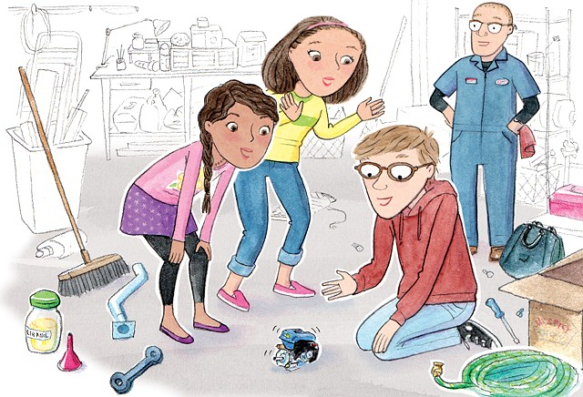Science Fair Showdown! written by Steven Otfinoski illustrated by Violet Lemay Pearson