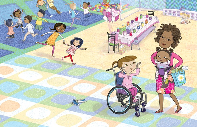 Yes I Can! A Girl and Her Wheelchair, illustrated by Violet Lemay, Magination Press, 2018