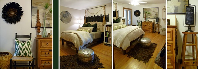 Brookview Midcentury Guest Room