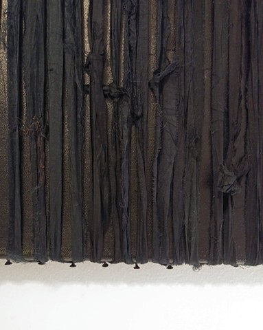 Black Silk Painting (detail)