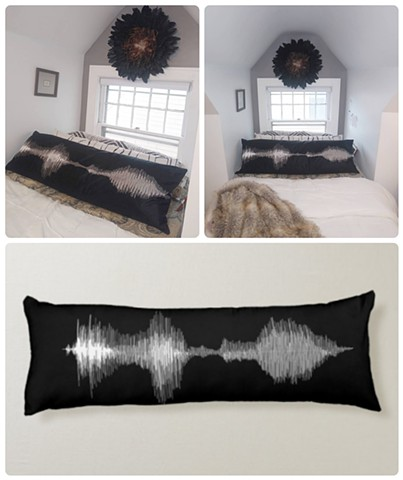 'I love you' Soundwave Body Pillow (cover & insert)