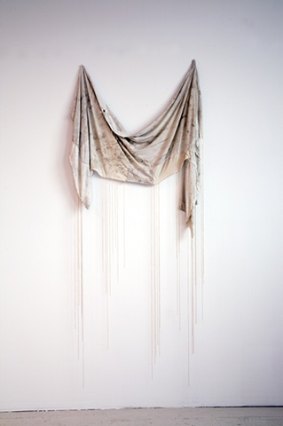 Untitled (Wall-hanging Shirt and Chains), 2011