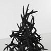 Untitled (Black Antler Pile), 2008