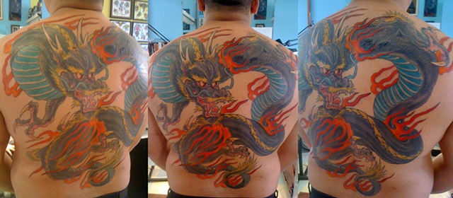 Dragon Back   coverup