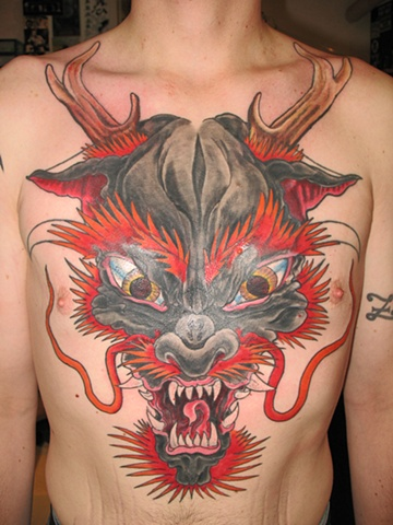 chest of dragon