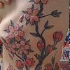 Cherry Blossom side panel