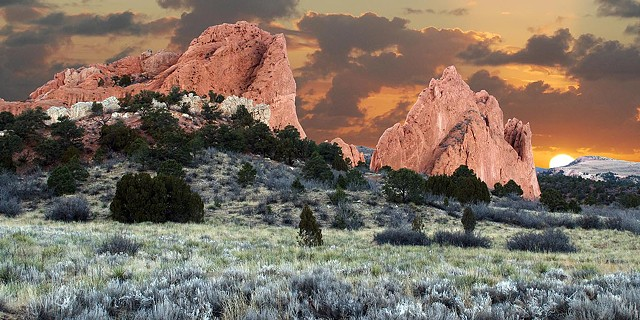 Garden of Gods, Light Box