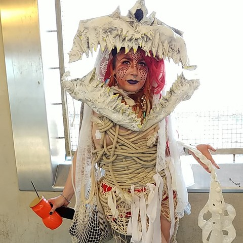 Shark, Mermaid Parade, 2018