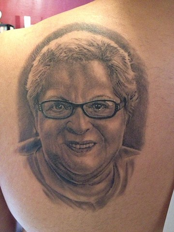 healed portrait of anthonys grandma