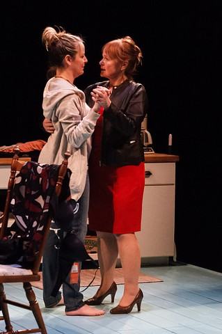 Margaret Daly as Sharon, Tasha Lawrence as Robyn