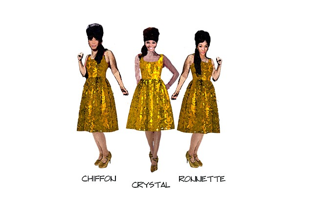 The Ronnettes-sketch