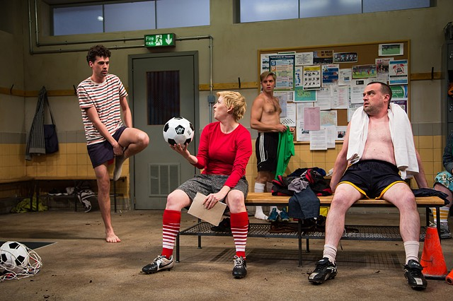Jumpers For Goalposts production photo