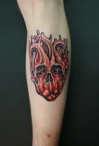 Triple Skull Heart Morph