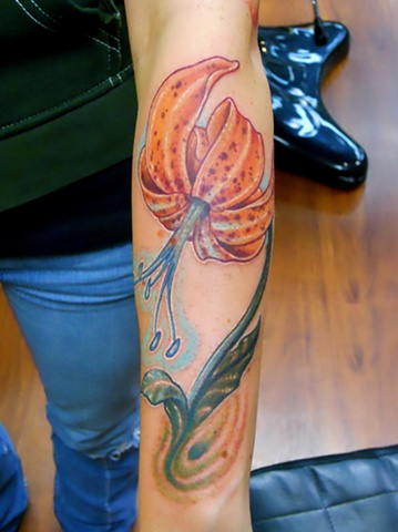 Tiger Lily Tattoo