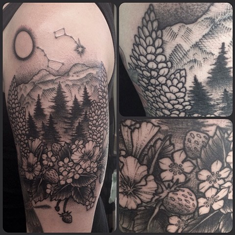 Desolation Wilderness Tattoo