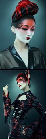 Asian themed shoot