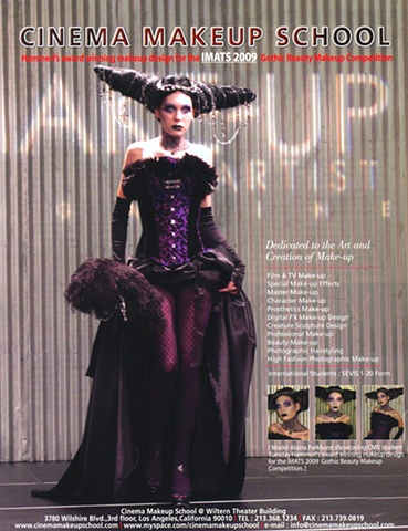 IMATS ad for CMS in Makeup Artist Magazine