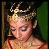 """makeup detail shot for Jamais Vu """"India"""" shoot"""