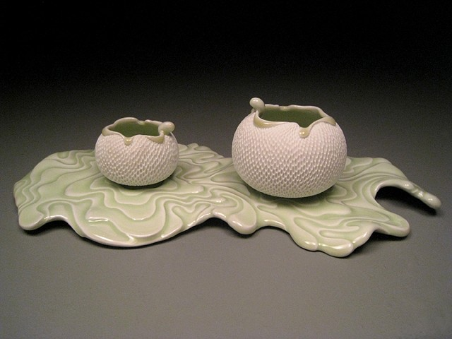 Water Ripple Cups and Saucer II