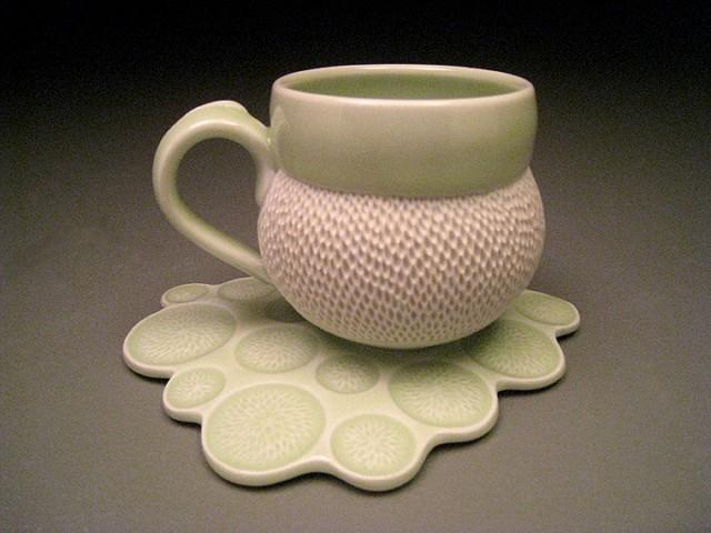 Water Drop Mug & Saucer #1
