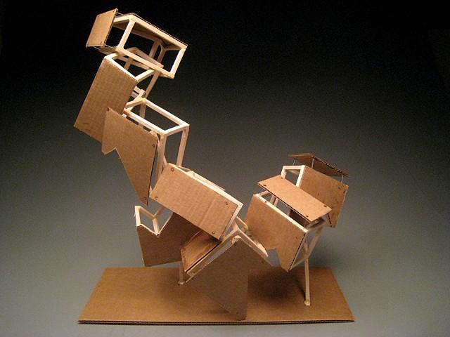 Wood Sculpture #3 - Modular Design
