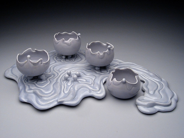 Water Ripple Cups Set