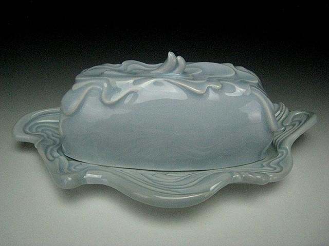 Blue Butter Dish II