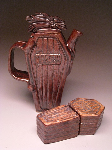 Slab Teapot set #3