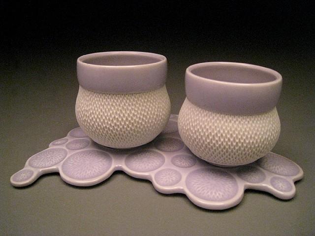 Water Drop Cups & Saucer #2