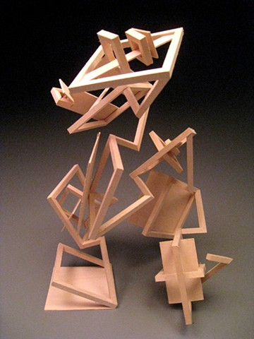 Wood Sculpture #7 - Modular Design